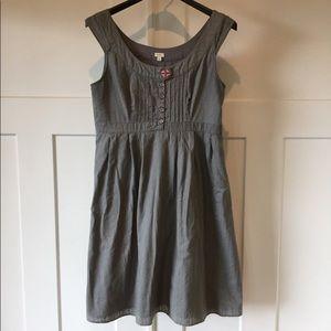 Fossil sage cotton dress